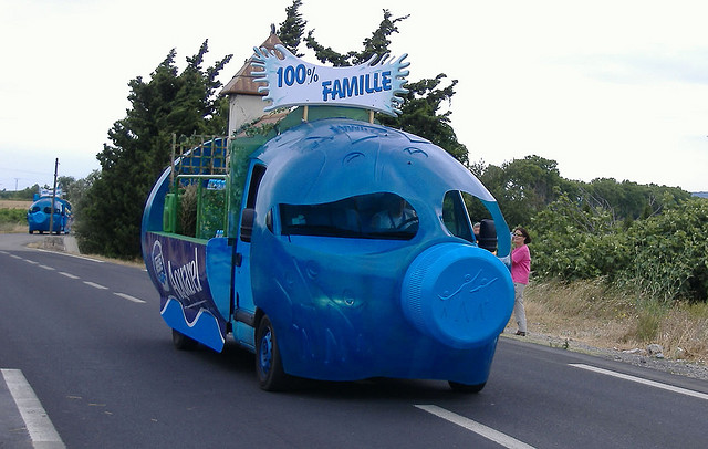 Le véhicule Aquarel