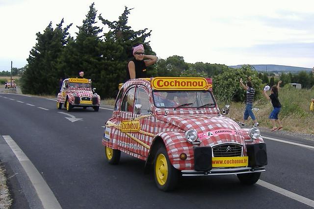 La voiture Cochonou