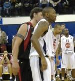 Soir de match… Paris-Levallois vs Nancy en pro A de basket.
