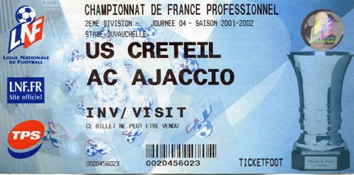 US Créteil-AC Ajaccio