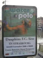 Soir de match : Dauphins du FC Sète – SN Strasbourg.