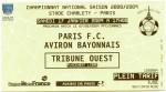 Soir de match : Paris FC – Aviron bayonnais.