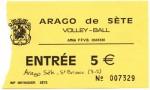 Soir de match : Arago de Sète – Saint Brieuc CA VB