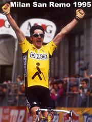 18 mars 1995 Laurent Jalabert remporte Milan-San Remo ...