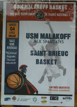 Affiche Malakoff Saint Brieuc
