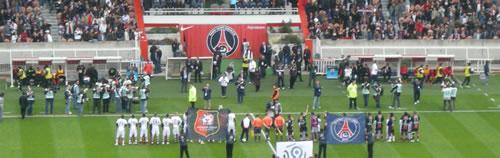 PSG - Stade rennais