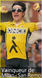 Victoire de Laurent Jalabert dans Milan-San Remo