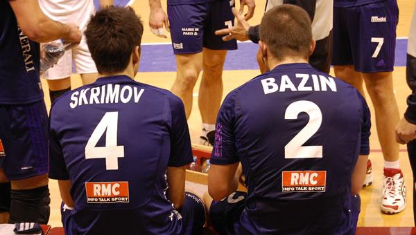 Todor Skrimov et Yannick Bazin