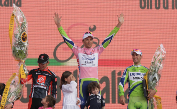 Giro podium 2010