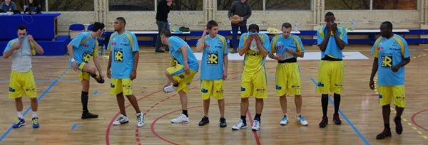 L'équipe de Saint Brieuc Basket saison 2010-2011.