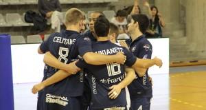 L'équipe du Paris Volley remporte sa deuxième victoire contre Chaumont.