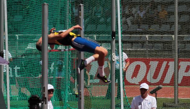Youssef Benzamia en action.