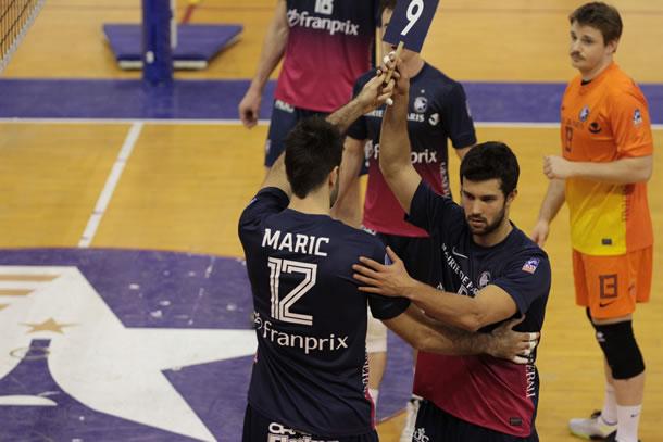 Retour sur le parquet de Goran Maric (Paris Volley).