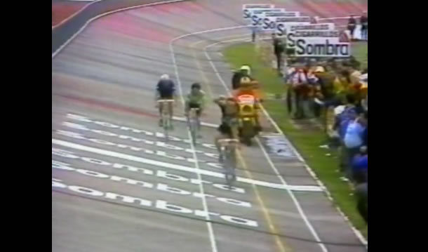 Vuelta 1983 victoire de Bernard Hinault à Avila.