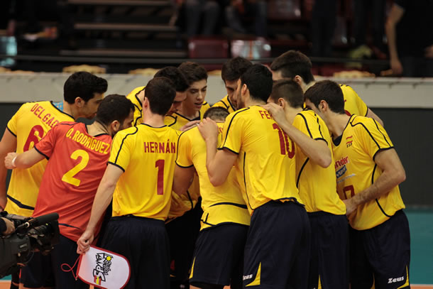 Equipe d'Espagne de volley-ball.