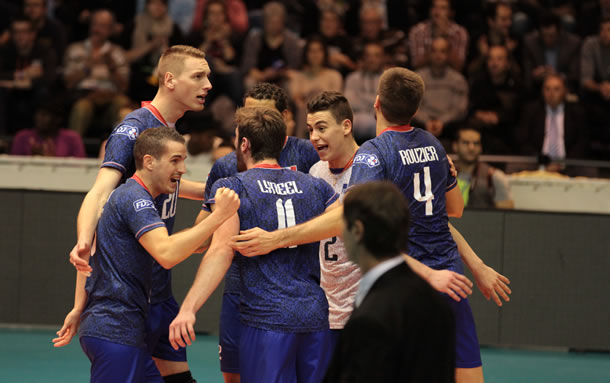 Equipe de France de volley 2014