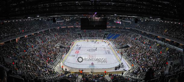 L'arena de zagreb et ses 15 000 places pleine (photo de Krume Ivanovski)