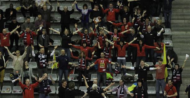 Les formidable supporters de Bühl.