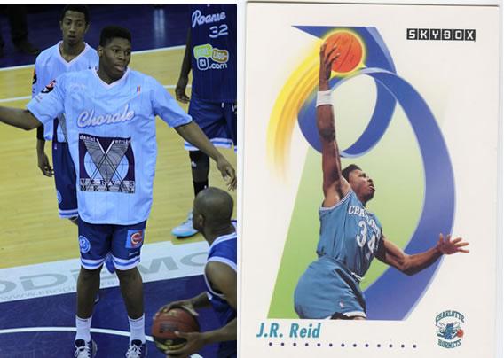 G. Yabusele possède une ressemblance frappante avec JR Reid.