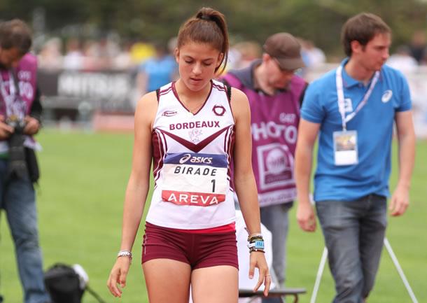 La championne d'Aquitaine, Manon Birade.