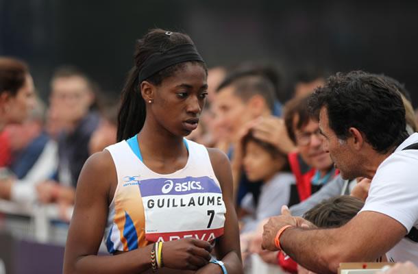 Ilionis Guillaume, une future très grande de l'athlétisme français.