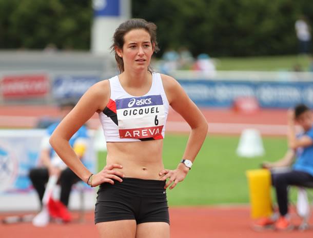 Solène Gicquel championne de Bretagne 2014.