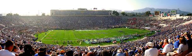 Le Rose Bowl stade de l'équipe de football américain de l'UCLA