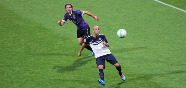 L'ancien joueur du FC Sète Idriss Ech-Chergui, meneur de jeu du Paris FC.
