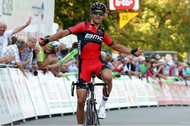 Greg Van Avermaet lors de sa victoire sur le Grand prix de Wallonie.