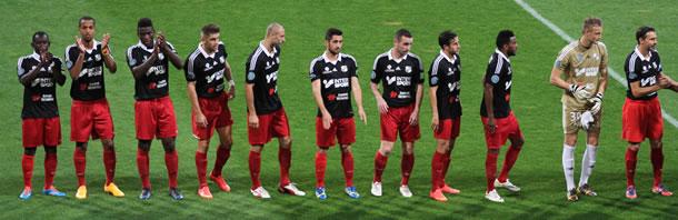 L'équipe du SC Amiens saison 2014 / 2015.