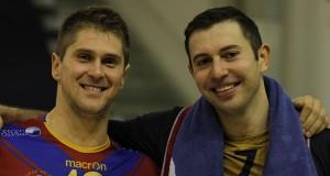 Jovica Simovski et Nikola Gjorgiev, les canonniers macédoniens.