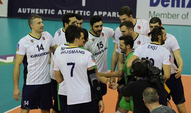 L'équipe du Fenerbahçe Istanbul.