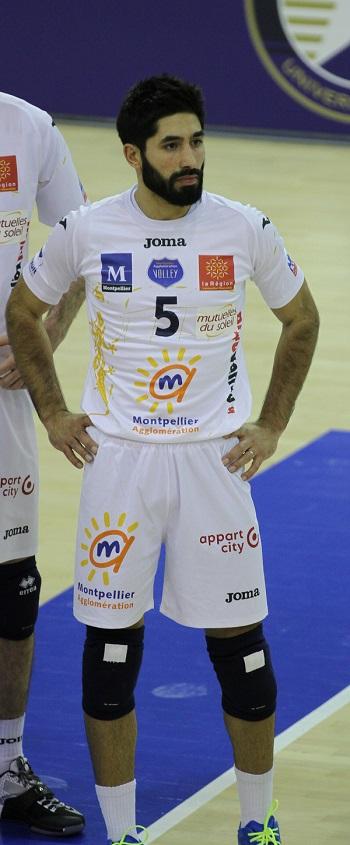 Rafaël Redwitz, l'un des plus grands passeurs à avoir évolué au Paris Volley et à l'Arago de Sète.