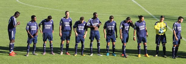 L'équipe de Toulon Le Las.