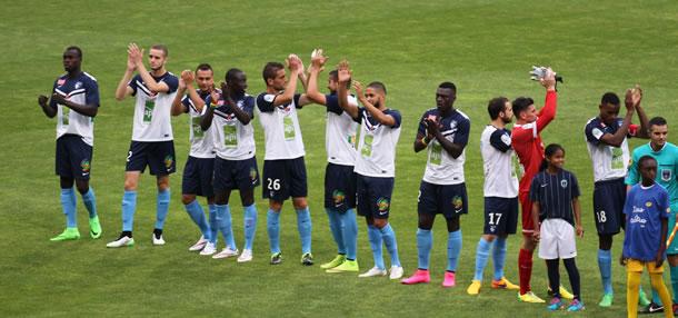 L'équipe du Havre HAC, version 2015 / 2016.