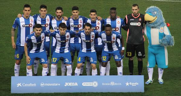 Le RCD Espanyol version 2015/2016.