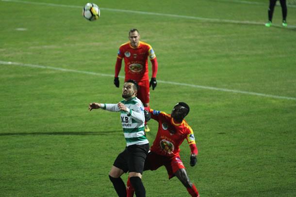 6 buts pour Romain Thibault qui a régalé le Louis Michel avec son jeu dos au but.