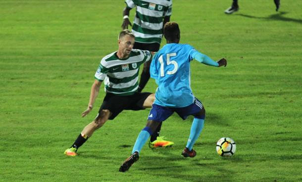 Mikaël Gas a effectué une saison très solide dans le centre de la défense verte et blanche.