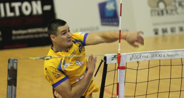 Les performances de Vasyl Tupchii seront importantes dans la réussite de la saison sétoise.
